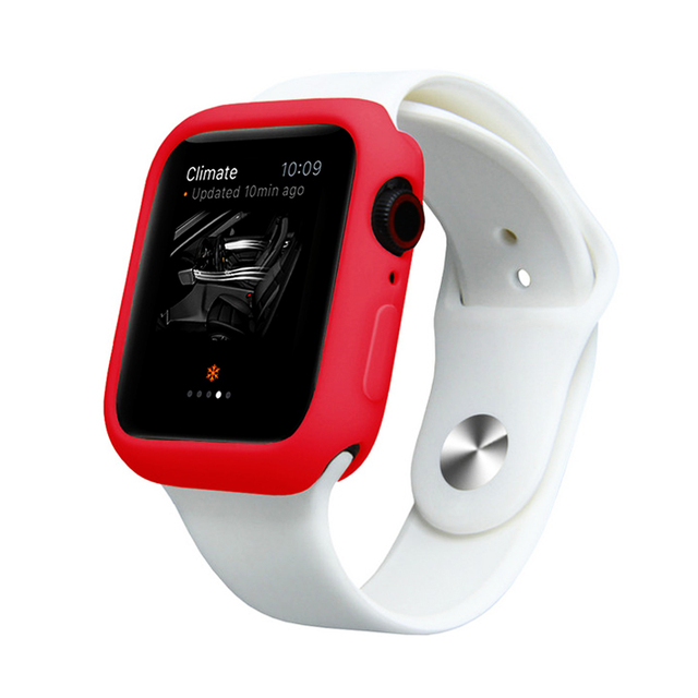 watch case for apple watch 4 5 band 44mm 40mm iwatch 3 2 strap 42mm 38mm Protector cover Scratch Resistant Shockproof bumper