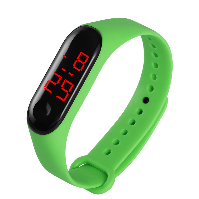 Colors Children's Digital Watch Led Sport Watch Casual Silicone For Kids Watches Wristwatch Bracelet