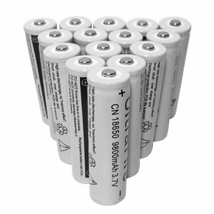 Gray Colour Original 1/2/4/6/10/Pcs 18650 9800mAh Battery 3.7V Lithium Batteria For Flashlight Or Other Electrical Appliances
