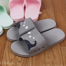 Летние массажные домашние тапочки на подошве, Для женщин Ванная комната нескользящая обувь EVA Легкие удобные домашние тапочки обувь для него и для нее
