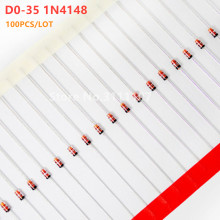 100PCS/LOT D0-35 1N4148 High-speed Switching Diodes