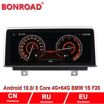 Bonroad 4Core Ram4G Rom64G Car Multmedia Video Player forF20 F22 NBT system Android 10.0 autoradio gps navigation Wifi image