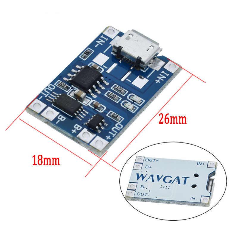 חכם אלקטרוניקה 5V סוג-c מיקרו USB 1A 18650 ליתיום סוללה טעינת לוח עם הגנת מטען מודול עבור arduino Diy קיט