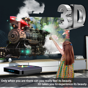 Image 4 - TV Box A95X F3, Android 9,0, 8K, con luz RGB, Amlogic S905X3, 4GB, 64GB, wi fi Dual, 4K, 60fps, Youtube, reproductor multimedia