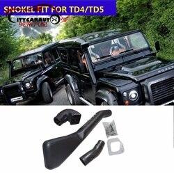 Citycarauto Auto Aksesoris Bagian Aire Asupan Aliran Udara Snokel Kit Air Filter Cocok untuk Land Rover Defender TD5 1999 + TD4 2007 + Mobil