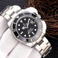 rolex- Luxury New Men Automatic Mechanical Watches Drive Ceramic Bezel Crystal Sapphire Sport AAA Watch 12