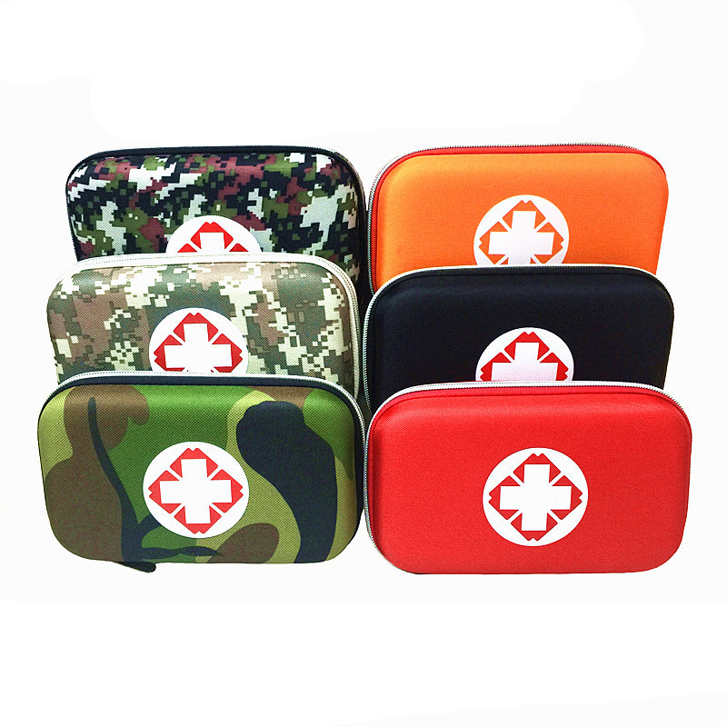 Camouflage First Aid Kit Bag Waterproof EVA Bag Portable Outdoor Travel Medicine Pack Security Emergency Kits Medical Treatment