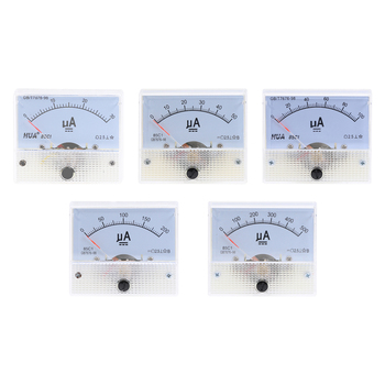 DC 85C1-UA Analog Current Meter 30uA 50uA 100uA 200uA 500uA  Ammeter Panel AMP Gauge Mechanical Amperemeter - sale item Measurement & Analysis Instruments