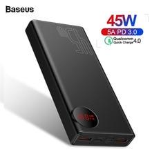Baseus 20000mAh Quick Charge 4.0 3.0 Power Bank PD 45W 20000