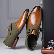 Men Shoes Spring Slip-On Design Large-Size Fashion Brand Autumn Mixed-Color 38-48
