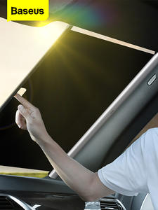 Baseus Visor-Cover Windshield Sun-Shade-Protector Sun-Blind Retractable Auto-Front