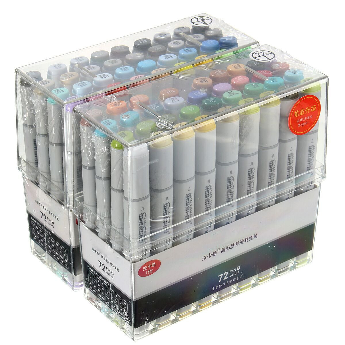 72Pcs Colors Artist Copic Sketch Markers Set Fine Nibs Twin Tip Board Pen Design Marker Pen For Drawing Art Set