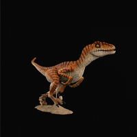 1 / 6 soldier scene accessories prehistoric animal dinosaur model Velociraptor