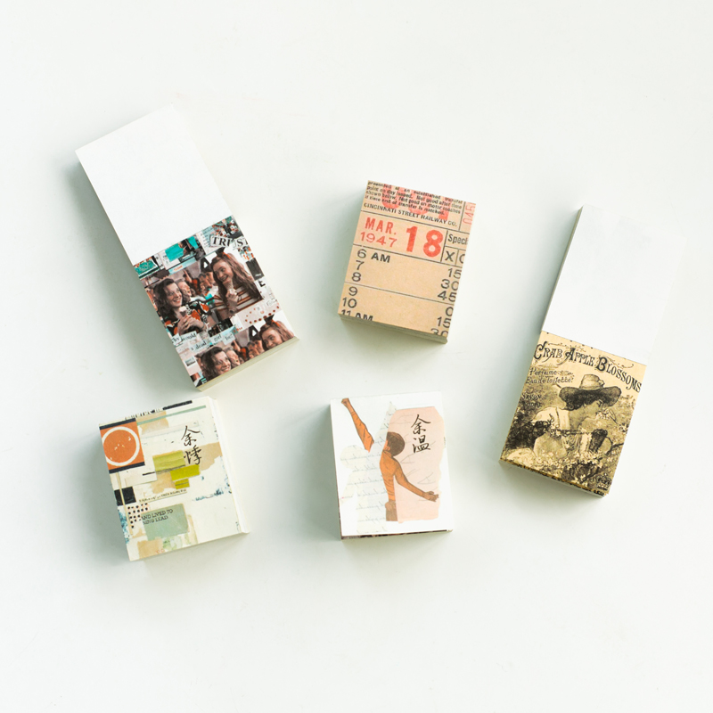 Mr.paper 165pcs/lot Collage Movie Writing Paper Kraft Card Journaling Bullet Scrapbooking Material Paper Retro Words LOMO Cards 5