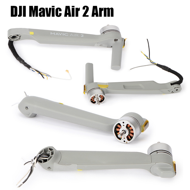 Original DJI Mavic Air 2 Motor Arm Front / Rear Aircraft Arm Module Drone Replacement Repair Spare Parts Left Front Right Back