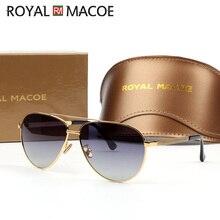 ROYAL MACOE High Quality Classic Men Women Sunglasses Polari