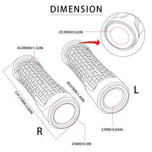 Image 5 - 7/8 22 мм аксессуары для мотоциклов рукоятка для руля Нескользящая удобная рукоятка для мотоцикла рукоятка для BMW RNINET