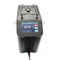 Calibrador seco da temperatura do bloco do tela táctil  calibrador seco do poço  fornalha seca da calibração do poço