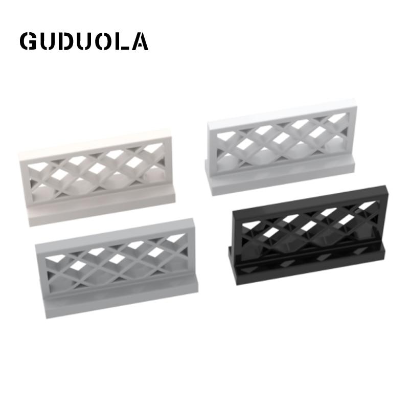 Guduola Building Block Fence Lattice 1x4x2 (3185) MOC Build Educational Brick Toys Parts 25pcs/LOT