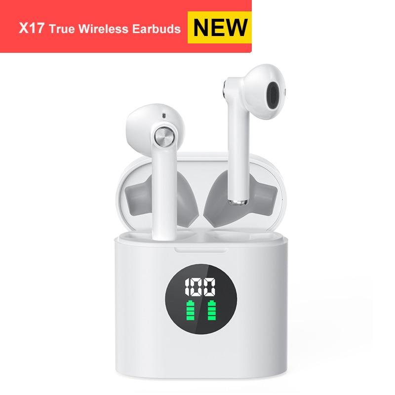 Mifa X17 настоящие беспроводные наушники TWS Bluetooth наушники стерео звук наушники 30H время воспроизведения беспроводной зарядный чехол дисплей п...
