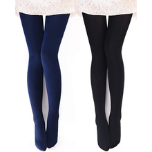 Outdoor Lined Sport-Tights Warm Tights-Thermal Winter Womens Opaque Fleece 2pair/Set