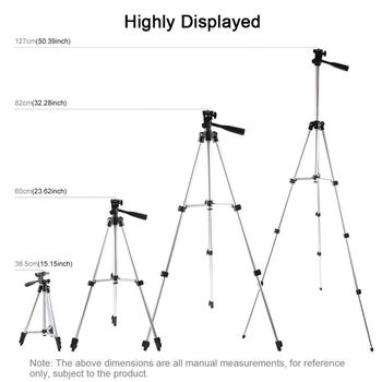 "Aluminium Tripod 6.2"" 16cm LED Ring Light For Makeup Vlog Youtube Video TikTok Live Stream Phone Clip Holder Bracket for Xiaomi9 1"