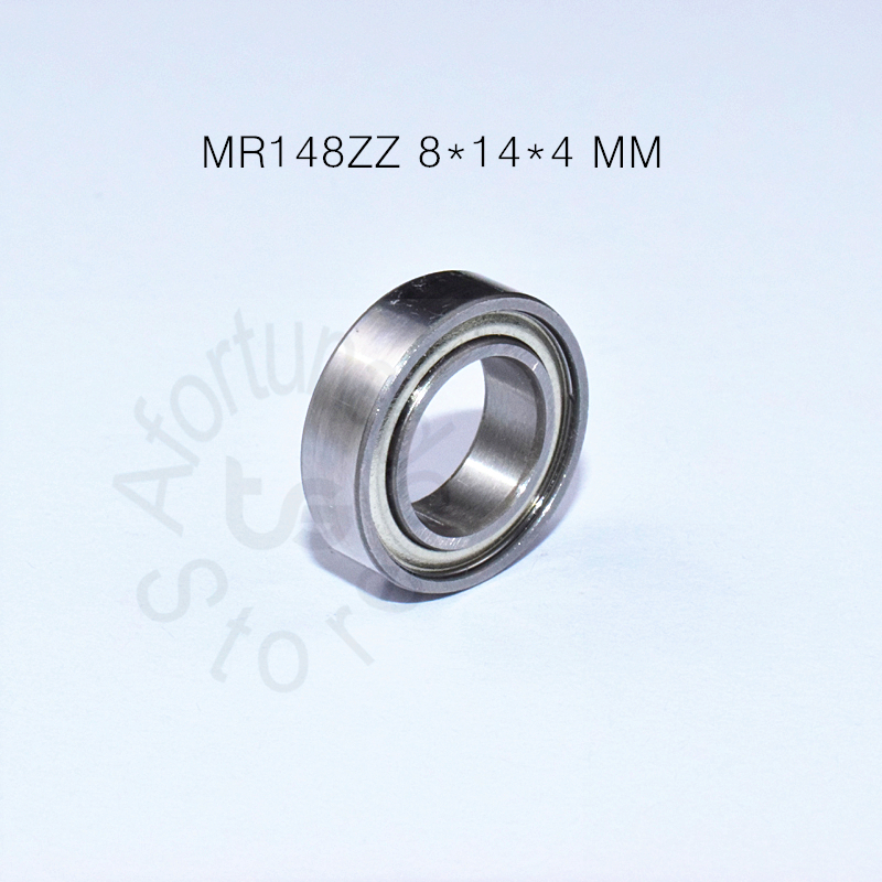 MR148ZZ 8*14*4 MM  10piecesfree Shipping ABEC-5 Bearing Metal Sealed Miniature Mini Bearing MR148 MR148ZZ Chrome Steel Bearings