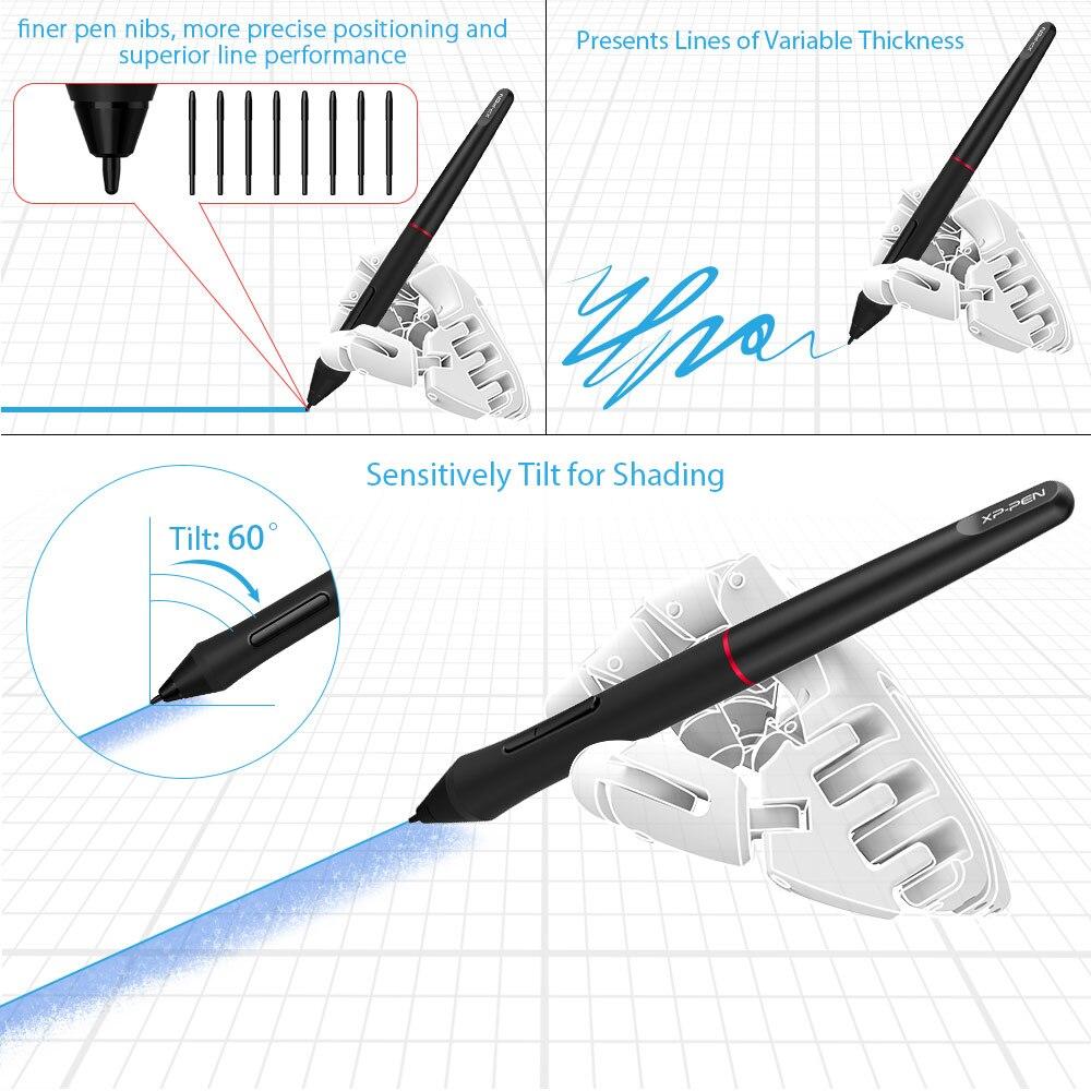 XP-Pen Artist 12 Pro tablette graphique dessin tablette graphique moniteur Animation numérique Art avec inclinaison 8192 pression - 2