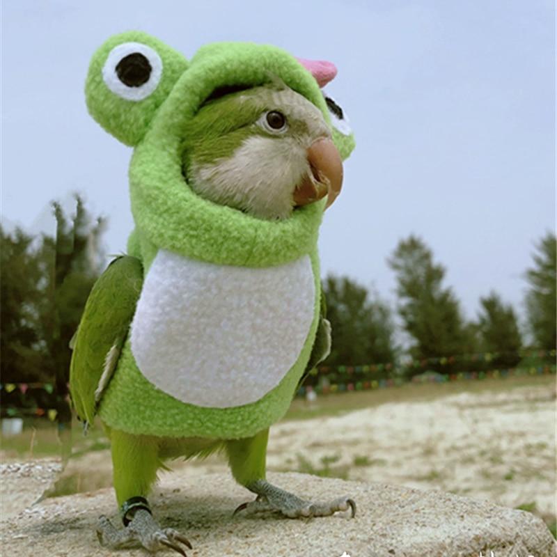 Bird Clothes Pet Parrot Diaper Napkin Hand-made Bird Pants Cute Flying Suit For Cockatiel Sun Parakeet Monk Parakeet Soft Fabric