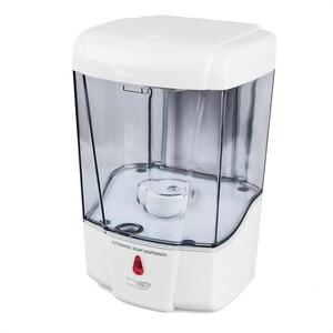 Image 5 - Dispensador automático de sabonete líquido com capacidade de 700 ml, suporte para parede, libera o detergente sem contato manual, para banheiro e cozinha