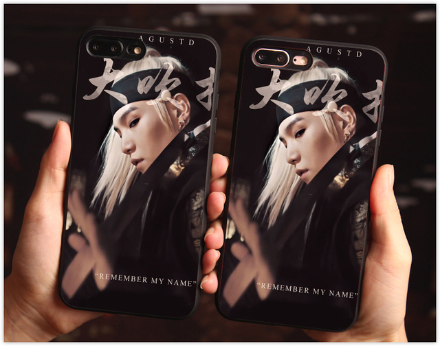 AGUST D SUGA THEMED IPHONE CASE (11 VARIAN)