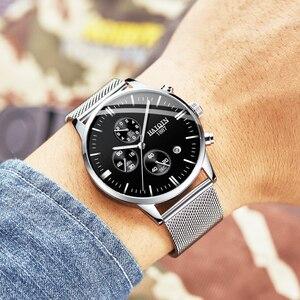 Image 2 - HAIQIN 2019 패션 기계식 남성 시계 브랜드 럭셔리 스포츠 손목 시계 남성 방수 석영 남성 시계 Relogio Masculino