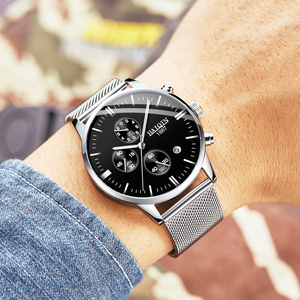 Image 2 - Haiqin 2019 Fashion Mechanische Heren Horloges Topmerk Luxe Sport Horloge Mannen Waterdicht Quartz Herenhorloge Relogio Masculino