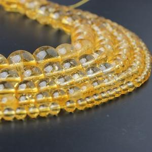 Мужской и женский браслет LanLi, из апельсиновых кратеритовых бусин, 4-12 мм