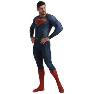 Image 3 - Deluxe סופרמן Aquaman קוספליי תלבושות למבוגרים גברים ליגת צדק Superhero סרבל ליל כל הקדושים תלבושות גברים מבוגרים