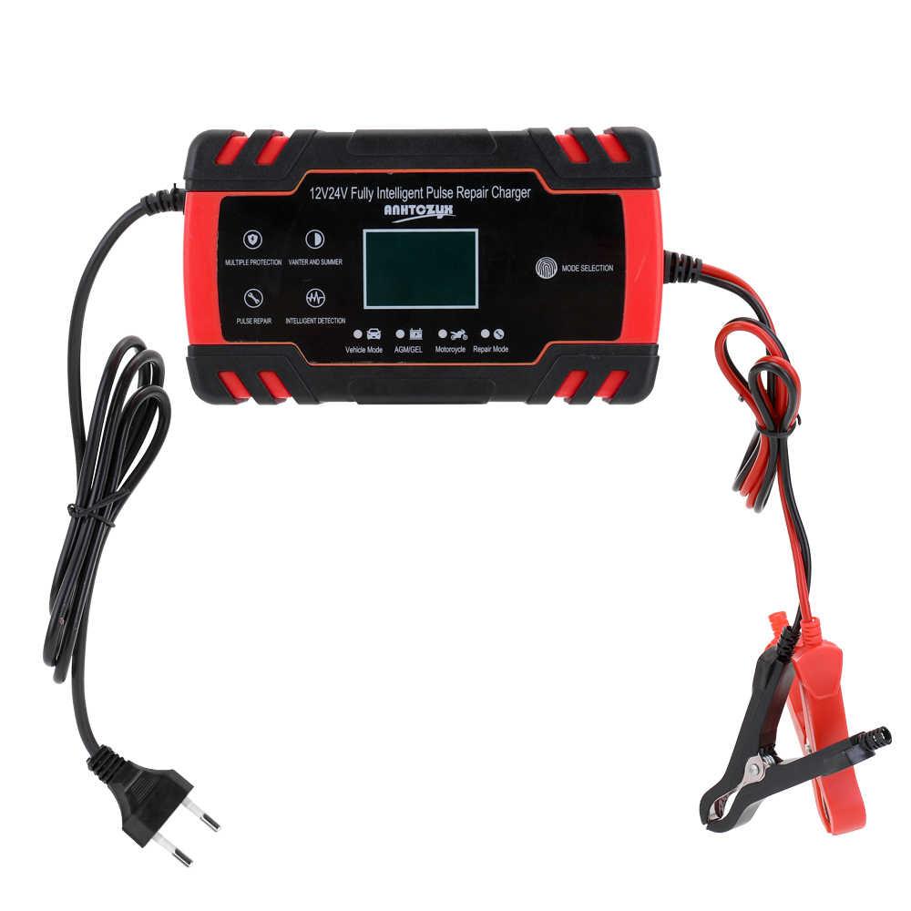 Batterij Oplader Auto Mobiele Lader 12 V/24 V Auto Mobiele C-Harger Adapter Power Motorfiets Auto Mobiele C-Harger Met Digitale Display