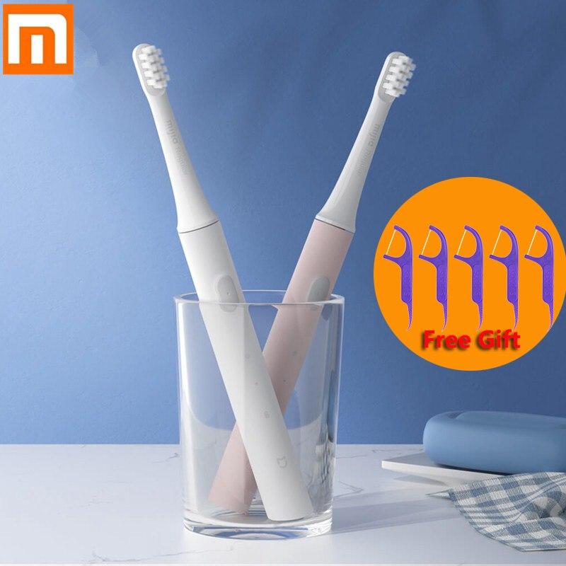 Original Xiaomi Mijia T100 Mi Smart Electric Toothbrush 46g 2 Speed 01 Sonic Toothbrush Whitening Oral Care Zone Reminder