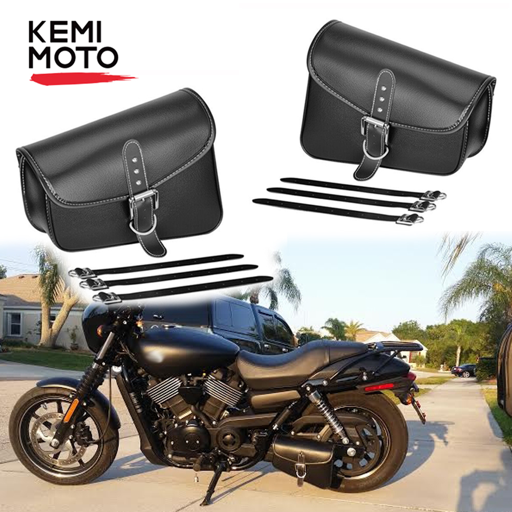 Chrome CNC Motorcycle 8mm Mirrors Harley Dyna Softail Sportster Breakout CVO XL