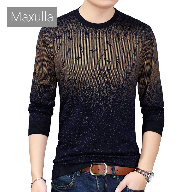 Maxulla Mens Sweaters Casual Social Wool Pullover Men Sweater Shirt Jersey Clothing Fashion Mens Knitted Pull Sweaters
