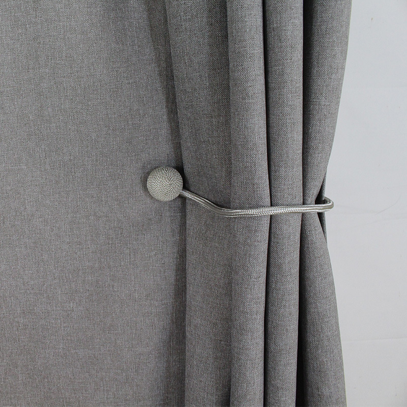 Thickened Imitation Linen Shower Curtains Waterproof Bathroom Curtain Home Hotel