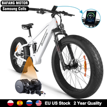Electric-Bike Mountain-Bike-4.0 Women 750W Motor Fat-Tire Beach 48V for 48v14ah 55km/H