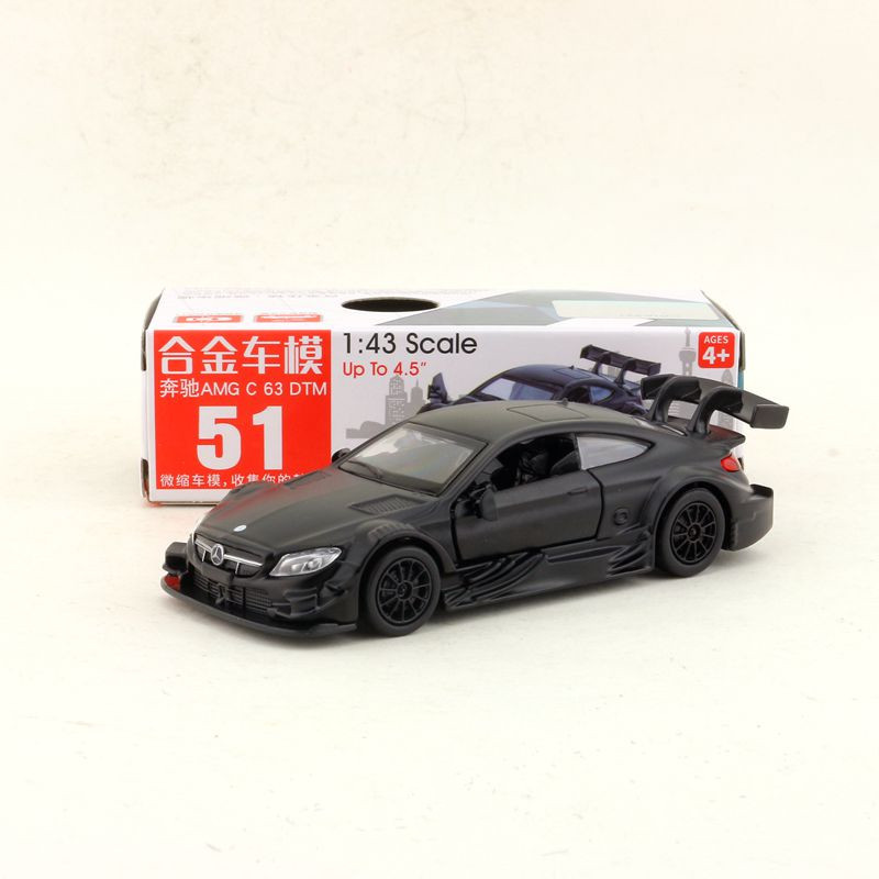 CAIPO 1:43 Scale Benz-AMG C63 DTM Alloy Pull-back Car Diecast Metal Model Car For Collection Friend Children Gift