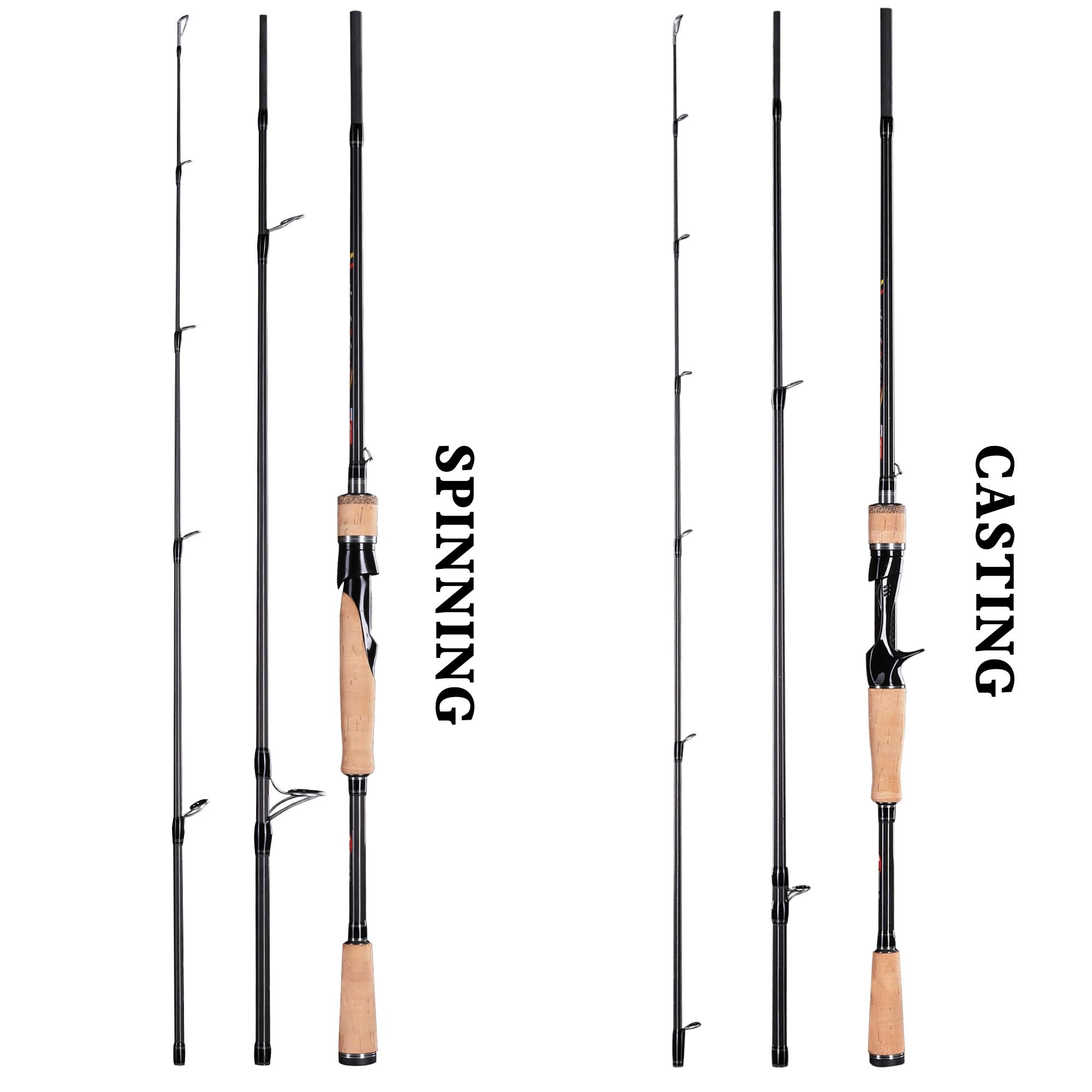 Spinning/Casting Fishing Rod BUDEFO HEARKEN 3