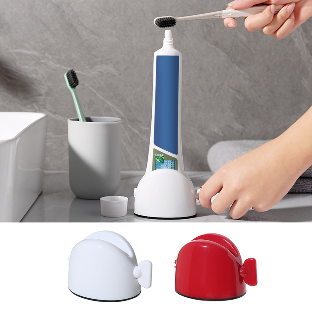 Creative Home Lazy Squeeze Toothpaste Machine Manual Facial Cleanser Squeezer Bathroom Squeeze Toothpaste Folder
