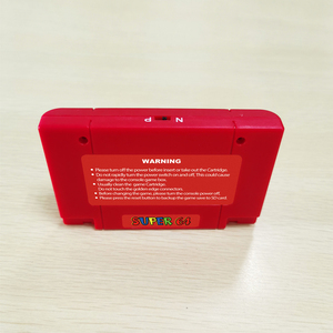 Image 2 - Super 64 Bit Retro 340 in 1 Game Card For N64 Video Game Console Region Free NTSC and PAL Game Cartridge