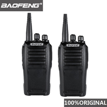 """2 шт Baofeng UV 6D иди и болтай Walkie Talkie """"иди и Дальний двухстороннее радио 400 480 МГц UHF с одной полоской портативных раций переговорное устройство"""