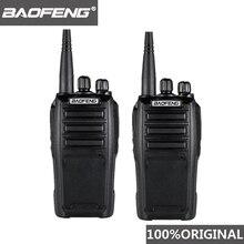 2 pezzi Baofeng UV 6D walkie talkie a lungo raggio Radio bidirezionale 400 480MHz UHF singolo banda palmare Radio ricetrasmettitore Interphone