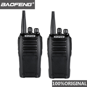Image 1 - 2 pezzi Baofeng UV 6D walkie talkie a lungo raggio Radio bidirezionale 400 480MHz UHF singolo banda palmare Radio ricetrasmettitore Interphone