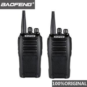 Image 1 - 2PCS Baofeng UV 6D Walkie Talkie Long Range Two way Radio 400 480MHz UHF Single Band Handheld Radio Transceiver Interphone