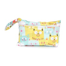 [CHOOEC] NEW Small Size:15*22.5CM New Wet Bag Washable Reusable Cloth diaper Nappies Bags Waterproof Swim Sport Travel Carry bag